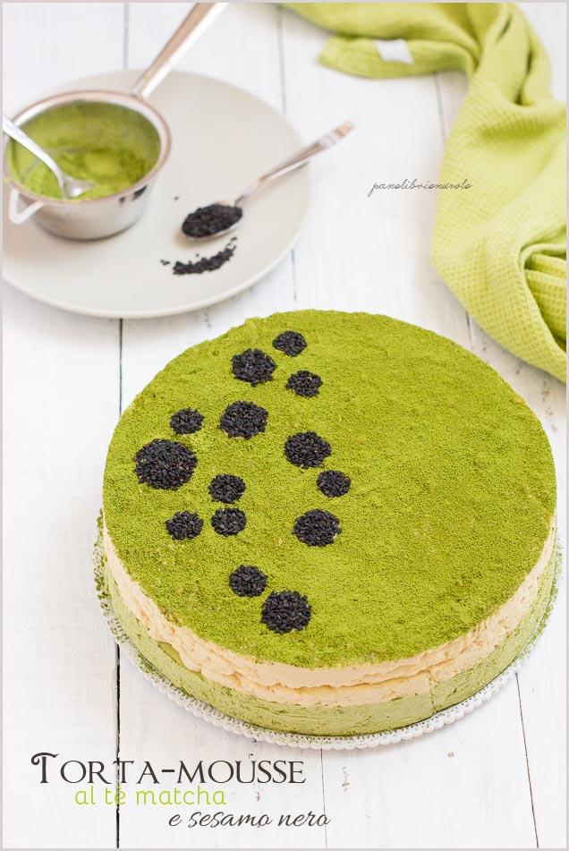 mousse-cake-al-te-matcha-e-sesamo-nero-