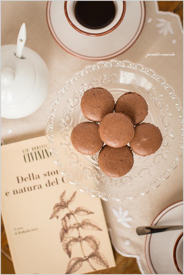 macaron-al-cacao-con-ganache-al-caffè