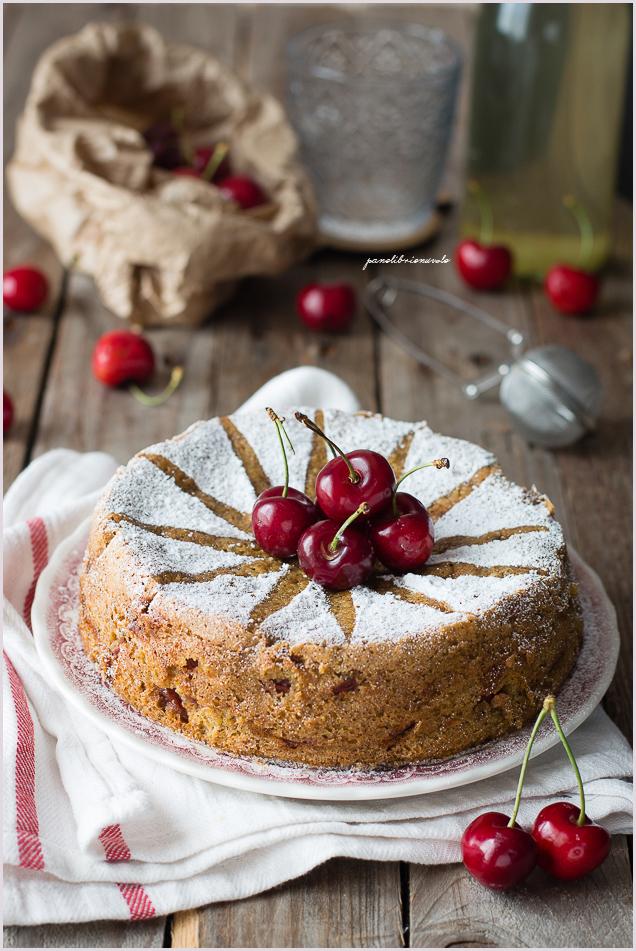 torta ciliegie e pistacchi-1