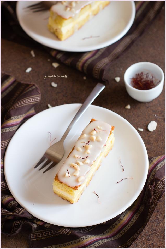 torta allo zafferano-4