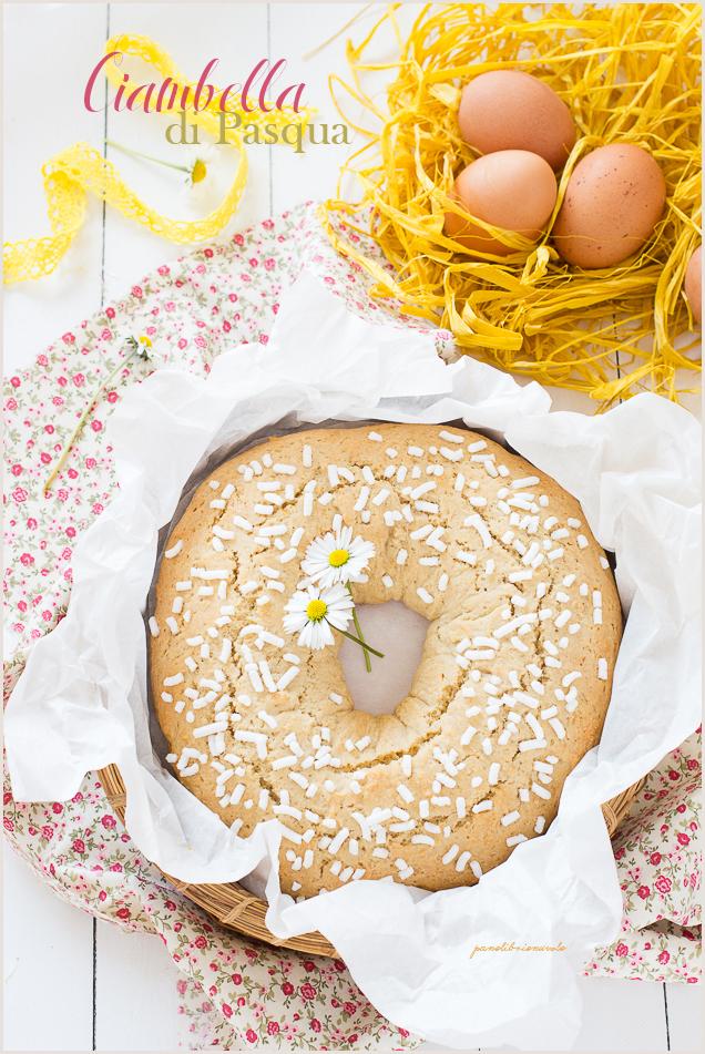 Ciambella dolce di Pasqua